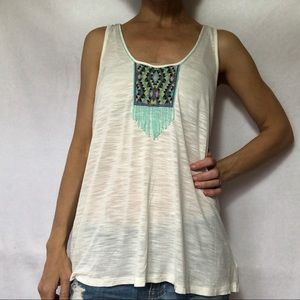 American Eagle | Tank Top M sheer Shirt NWT